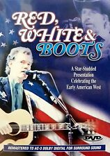 RED, WHITE & BOOTS DVD Movie- Brand New & Sealed - Fast Ship! OD-3699