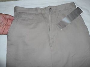 Women's Pants Petite Color Beige 2 Side Front Pocket Size 4P By David N Sport