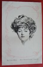 C.DANA GIBSON GLAMOUR ARTIST Postcard c.1905 FROM PICTORIAL COMEDY GLAMOUROUS