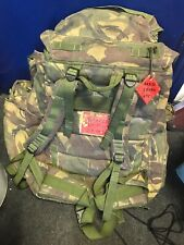 USED Rucksack And Frame, (INF) Long Convoluted Back DPM, IRR & side Pockets