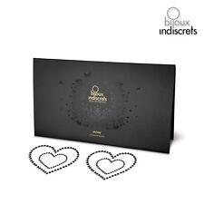 Accessoires Cache Seins Mimi Heart Noir Taille Unique - BIJOUX INDISCRETS