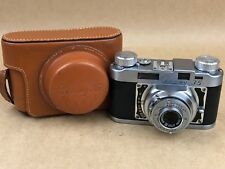Cee-Ay 35 Camera Corp. Vintage Camera Made in USA w/ 50mm Wollensak Lens - Nice