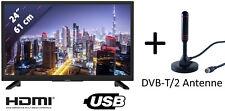 """Grundig GHB5700 12V Volt LED TV Fernseher 24"""" 61 cm LCD Triple-Tuner DVB-S2/T2/C"""