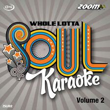 Zoom Karaoke Whole Lotta Soul and Motown Series CD+G - Volume 2