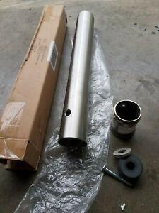 "McCue FlexCore 24"" Cart Stop Flex Post 3"" Diameter Kit, Stainless Steel"
