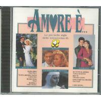 AA.VV. CD Amore E' Le Piu Belle Sigle Delle Telenovelas di Rete 4 Five Sigillato