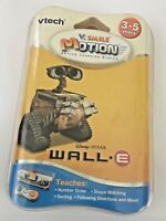 Brand New! Vtech V Smile Motion Active Learning System Disney Pixar Wall e Game