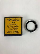 Rare All Purpose Tiffen Adapter Ring Series # C AR Screw In See Images- FSTSHP