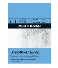 DALER ROWNEY SMOOTH DRAWING PAD - A3 (96gsm)