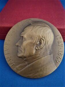 Tschechoslowakei Medaille 1962 Médecine, Docteur Jan Ev. Purkyne OVP