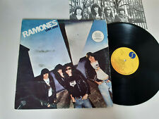 LP Punk Ramones - Leave Home (14 Song) NOVA SIRE PORTUGAL WoC Insert