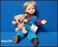 CODY ADRIENNE BROWN 30 CM ASHTON DRAKE GALLERIES PUPPE 1996 BOYS AND BEARS DOLL