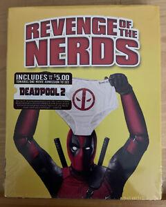 Revenge of the Nerds Blu-ray Sealed Deadpool Photobomb Slipcover