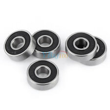 Steel Sealed Ball Bearings  Miniature Deep Groove High Quality For 10Pcs 608-2RS