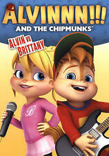 Alvin And The Chipmunks Alvin Vs Brittany DVD BRAND NEW . free shipping