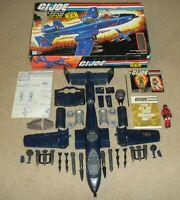 Lot 1984 GI Joe Cobra Rattler w/ Blueprints *Complete in Box * No Broken Parts*
