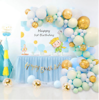 BALLOON ARCH KIT SET GARLAND WEDDING BABY SHOWER BIRTHDAY PARTY DECOR UK SELLER