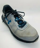 Under Armour Mens Charged Toccoa Running Shoe Gray Blue Size 11.5 Reflectors