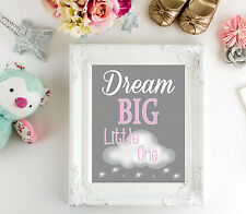 Dream Big Little One - 8x10 Print-Nursery Wall Art