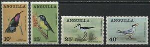 Anguilla 1968 set of 4 mint o.g. hinged