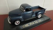 1950 GMC Pickup in Metallic Mid Blue - 1:43 scale