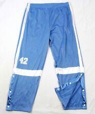 VTG Lee SPORT Mens Basketball Athletic Pants Perforted  Baby Blue VINTAGE Active