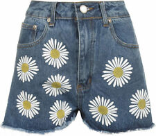 Floral High Regular Size Shorts for Women