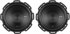 "(2) Rockford Fosgate P1S4-10 Punch 10"" 1000 Watt Car Subwoofers Stereo Subs"