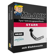 BRINK VW Golf Plus 5 & 6 05-14 AHK Anhängerkupplung starr 7pol spe. E-Satz