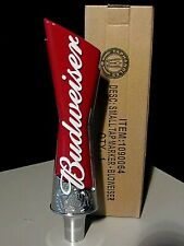 "New 8"" Budweiser Lager Beer Tap Handle Lot for Bar Kegerator Bud"