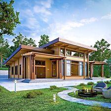 Log House Kit Lh 314 Eco Friendly Wood Prefab Diy Building Cabin Home Modular