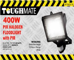 400w Halogen Floodlight PIR Motion Detection Energy Saving Lamp