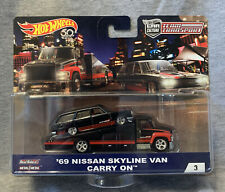 Hot Wheels Car Culture Team Transport 69 Nissan Skyline Van!!