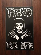The Misfits Sticker - Fiend For Life