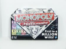Monopoly Millionaire Board Game 98838 Parker Brothers Family Money Finance Gifts
