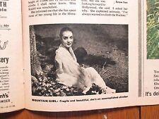 Aug-1956 This Week San Francisco Chron Mag(ANNA  KASHFI/DEBORAH KERR/STEVE ALLEN