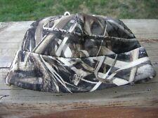 Avery Greenhead Gear DOUBLE Fleece Skull Cap Hat Realtree MAX 5 Cattail Logo