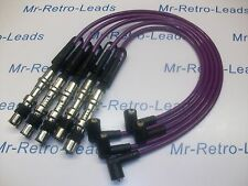 PURPLE 8MM PERFORMANCE IGNITION LEADS GOLF 2.3 V5 4 MOTION AQP AUE QUALITY LEADS