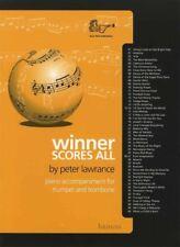 Winner Scores All Piano Accompaniment for Trumpet & Trombone Music Book