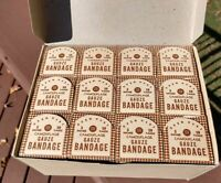 Case of 12 NOS WWII 1944 Dated Camouflage Bandages, Seamless Rubber Co Free Ship