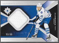 14/15 Ultimate Collection 04/05 Retro Jersey James van Riemsdyk UGJ-JV Leafs