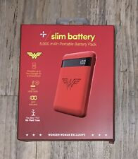 TYLT Wonder Woman DC Battery 5,000 mAh Portable Battery Pack Power Bank Charger