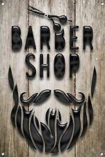 Barber SHOP metallo segno BARBIERE ARREDAMENTO sign Wall Art Placche Barber Shop 1072