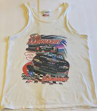 Vintage Vtg 90's NASCAR Dale Earnhardt Sr Double Sided Tank Top Size Medium