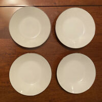 "Set of 4 Noritake China REINA Fruit Berry Dessert Bowl 5 1/2"" White"