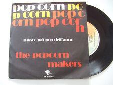 """The Popcorn Makers – Popcorn - Disco Vinile 45 Giri 7"""" Stampa ITALIA 1972"""