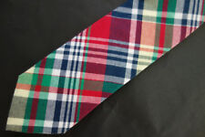 NWT Brooks Brothers Bright Linen Silk Cotton Tie USA MSRP $65
