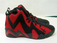V44410  Reebok Kamikaze II Black Red  MEN Size 7.5 - 9.5