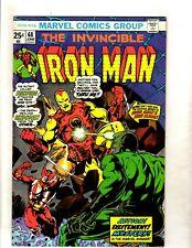 Lot Of 4 Invincible Iron Man Marvel Comic Books # 68 69 70 71 Avengers Thor Fm1