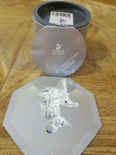 Swarovski Crystal Figurines Elephant Rare Mint With Coa